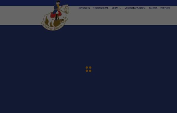 Vorschau von www.oecherstorm.de, Karnevalkorps Oecher Storm von 1881 e.V