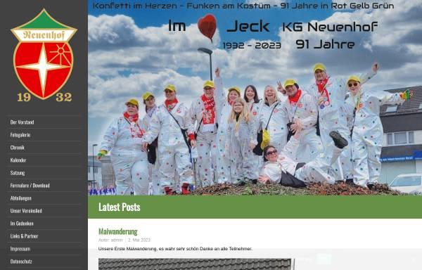 Vorschau von www.kg-neuenhof.de, Karnevalsgesellschaft Neuenhof e.V.