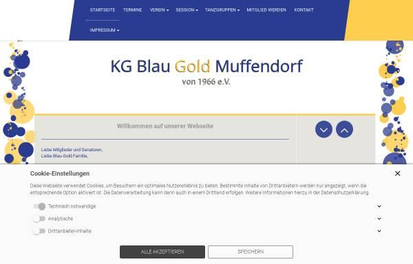 Vorschau von www.kgblaugold.de, KG Blau Gold 1966 Bad Godesberg-Muffendorf e.V.