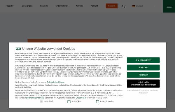 Vorschau von www.shz-gmbh.de, SHZ GmbH
