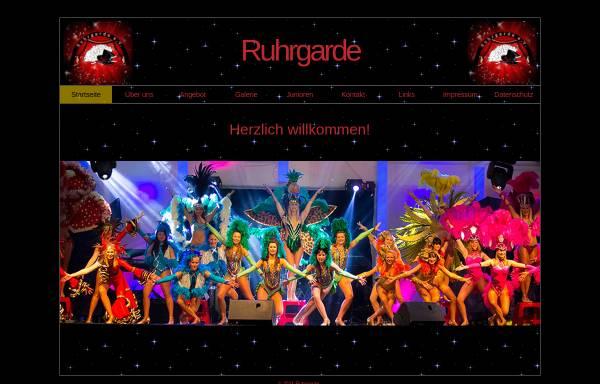 Vorschau von www.ruhrgarde.de, Die Ruhrgarde e.V.