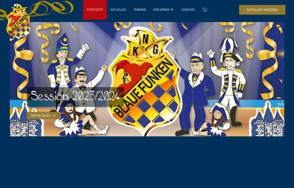 Vorschau von www.blaue-funken-neuss.de, Neusser Karnevalsgesellschaft Blaue Funken e.V.