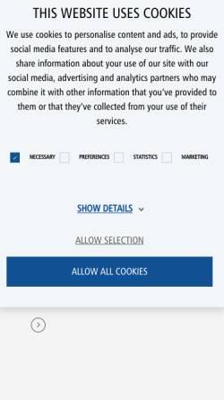 Vorschau der mobilen Webseite www.kleusberg.de, Container-Marktplatz.de - Kleusberg GmbH & Co. KG