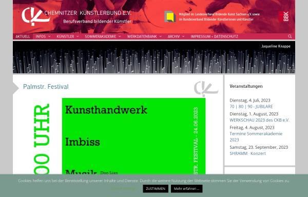 Vorschau von blog.ckbev.de, Chemnitzer Künstlerbund e.V.
