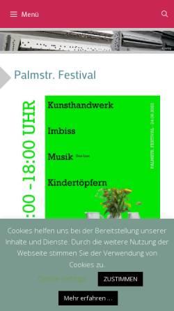 Vorschau der mobilen Webseite blog.ckbev.de, Chemnitzer Künstlerbund e.V.