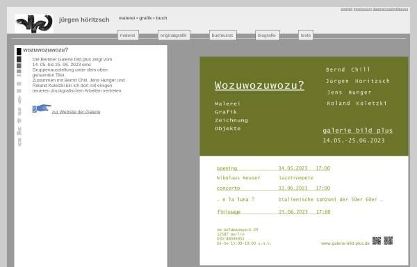 Vorschau von www.juergen-hoeritzsch.de, Höritzsch, Jürgen