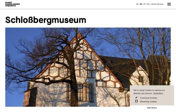 Vorschau von www.schlossbergmuseum.de, Schloßbergmuseum