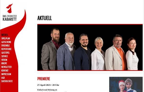 Vorschau von www.das-chemnitzer-kabarett.de, Das Chemnitzer Kabarett