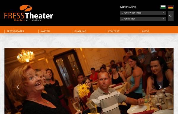Vorschau von www.fresstheater.de, Fresstheater Chemnitz