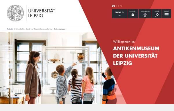 Vorschau von www.uni-leipzig.de, Institut für Klassische Archäologie und Antikenmuseum
