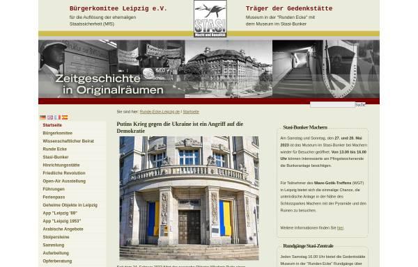 Vorschau von www.runde-ecke-leipzig.de, Museum in der
