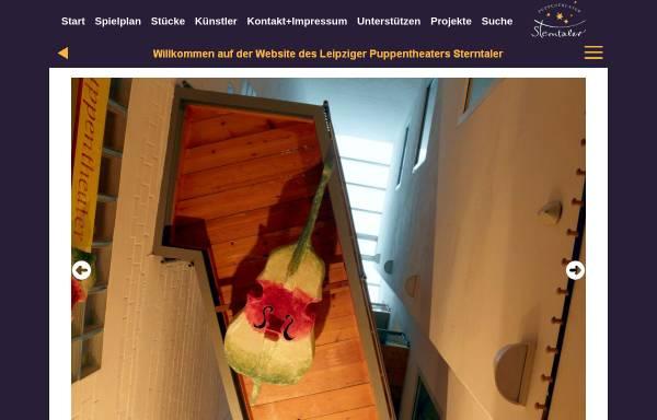 Vorschau von www.puppentheater-sterntaler.de, Puppentheater Sterntaler
