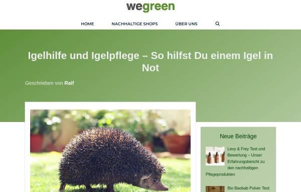 Vorschau von www.igelsos.de, Igel-SOS Donau-Ries e.V.