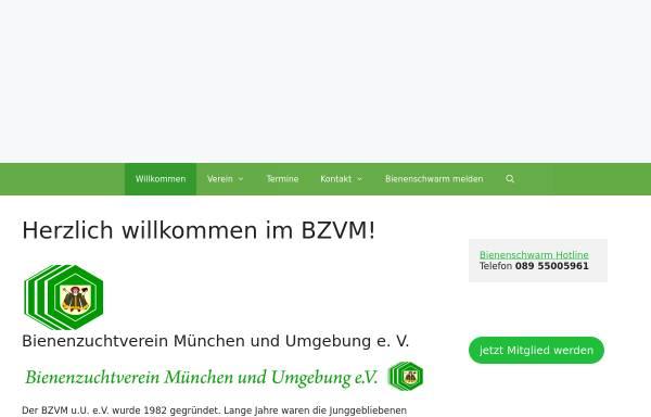 Vorschau von www.bienenzuchtverein-muenchen.de, Bienenzuchtverein München e.V.