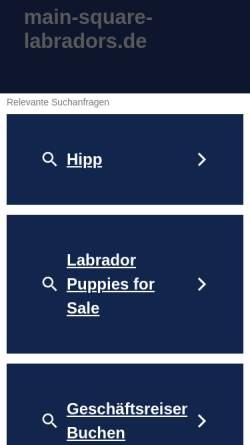 Vorschau der mobilen Webseite www.main-square-labradors.de, Of Main-Square