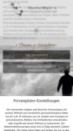Vorschau der mobilen Webseite stormy-wights.de, Stormy Wights