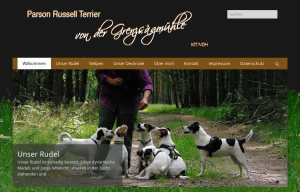 Vorschau von www.grenzsaegmuehle.de, Von der Grenzsaegmuehle