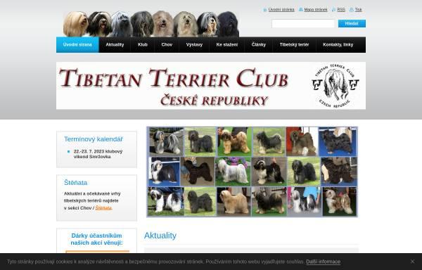 Vorschau von www.ttc-cz.com, Tschechischer Tibetan Terrier Club