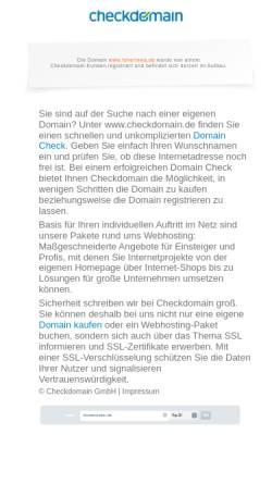 Vorschau der mobilen Webseite www.tsherinwa.de, Von Tsherinwa