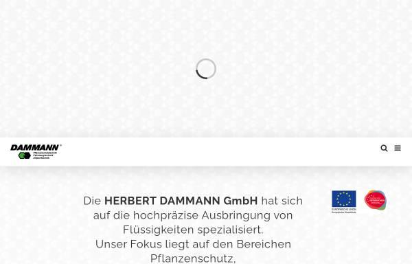 Vorschau von www.dammann-technik.de, Herbert Dammann GmbH