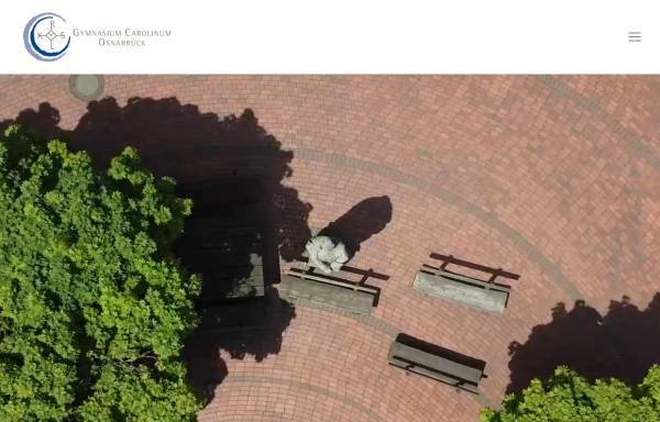 Vorschau von www.carolinum-osnabrueck.de, Gymnasium Carolinum