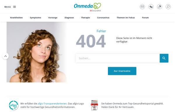Vorschau von www.onmeda.de, Psychische Störungen - Onmeda
