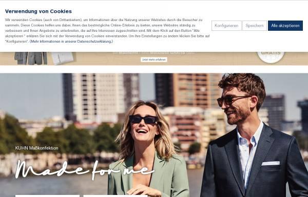 Vorschau von www.kuhn-kleidung.de, Alois Kuhn Kleiderfabrik