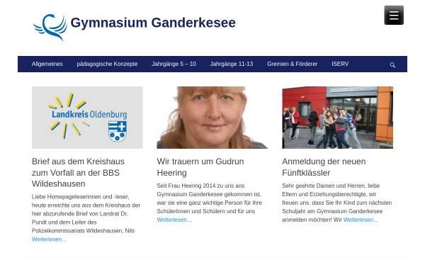 Vorschau von www.gymnasium-ganderkesee.de, Gymnasium Ganderkesee