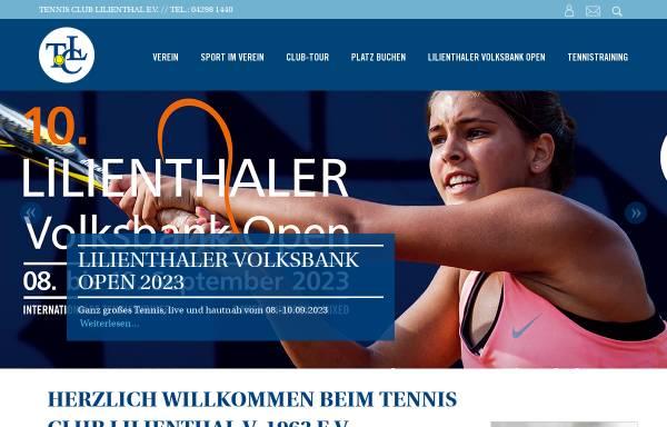 Vorschau von www.tclilienthal.de, Tennis Club Lilienthal e.V.