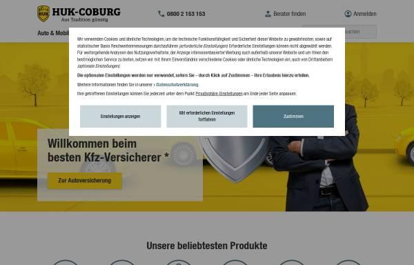 Vorschau von www.huk-coburg.de, HUK Coburg - Kundendienstbüro Gertrud Holtmannspötter