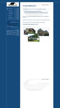 Vorschau der mobilen Webseite www.eilermann.com, Eilermann Bauunternehmen GmbH