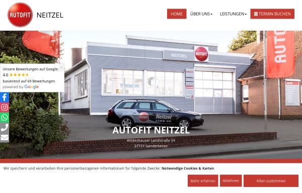 Vorschau von www.autofit-neitzel.de, AUTOFIT Neitzel