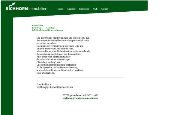 Vorschau von www.eichhornimmobilien.de, Eichhorn Immobilien