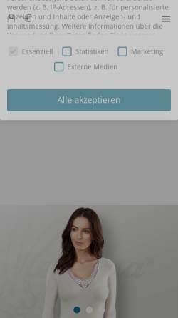 Vorschau der mobilen Webseite www.medicomfort.de, Medi.Comfort Textilvertriebs GmbH