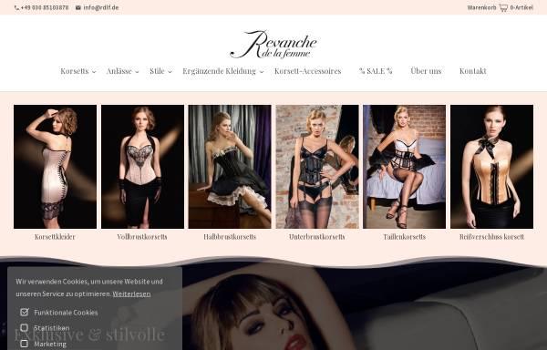 Vorschau von www.rdlf.de, Revanche de la femme