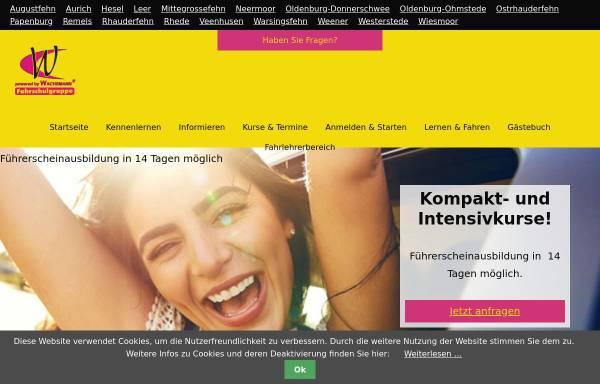Vorschau von www.gut-lernen.de, Fahrschule Wachsmann