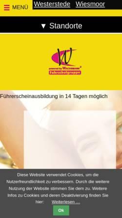 Vorschau der mobilen Webseite www.gut-lernen.de, Fahrschule Wachsmann
