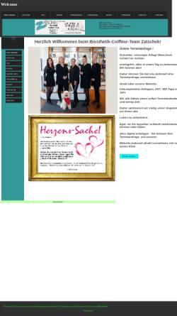 Vorschau der mobilen Webseite www.friseur-zatschek.de, Friseur Zatscheck