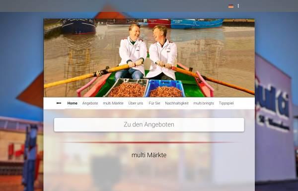 Vorschau von www.multi-markt.com, Multi Verbrauchermarkt