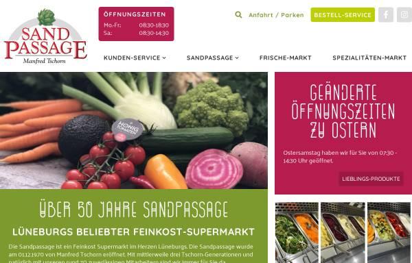 Vorschau von www.sandpassage.de, Sandpassage Manfred Tschorn GmbH & Co