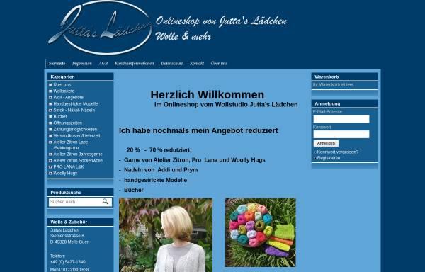 Vorschau von www.juttas-laedchen.de, Juttas Lädchen