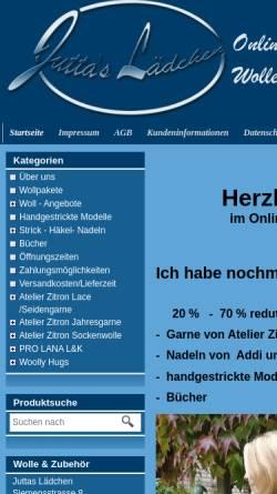 Vorschau der mobilen Webseite www.juttas-laedchen.de, Juttas Lädchen