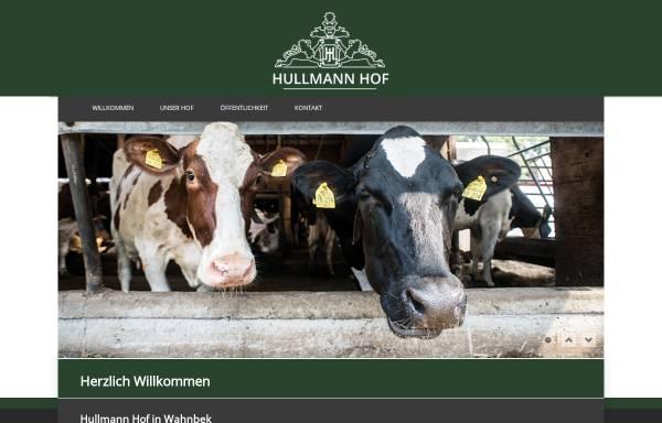 Vorschau von www.hullmann-hof.de, Hullmann Hof