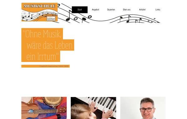 Vorschau von www.creativ-centrum.de, Musikschule im Rasteder Creativ Centrum