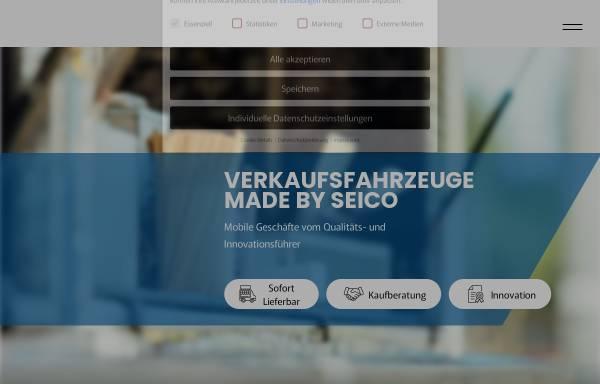 Vorschau von www.seico.de, Seico Fahrzeug GmbH