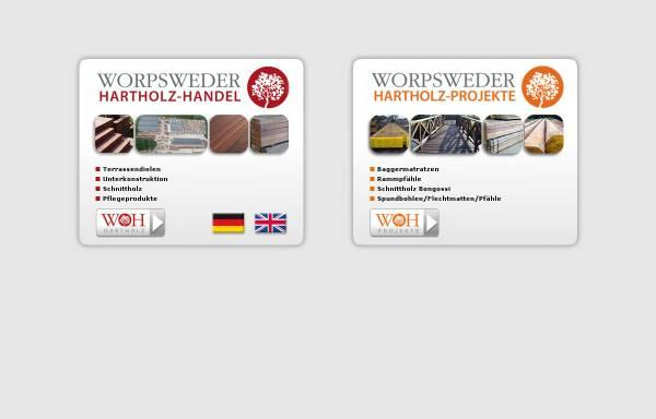 Vorschau von www.hartholz.de, Ekki Hartholz Agentur & Handel