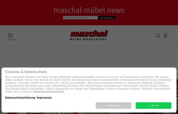 Vorschau von maschal.de, Maschal Einrichtungs- & Einkaufszentrum GmbH