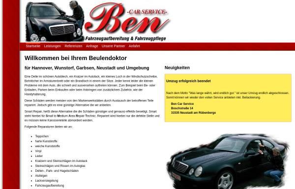 Vorschau von www.ben-car-service.de, Ben Car Service