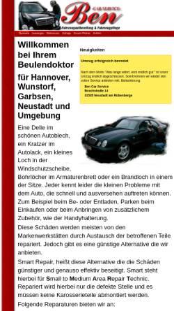 Vorschau der mobilen Webseite www.ben-car-service.de, Ben Car Service