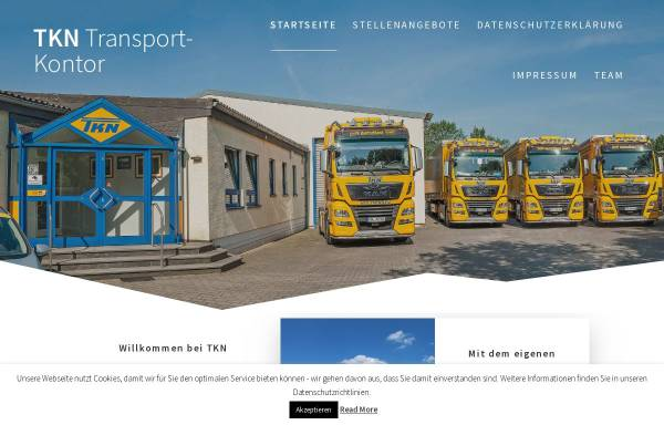 Vorschau von www.spedition-tkn.de, TKN Transportkontor GmbH